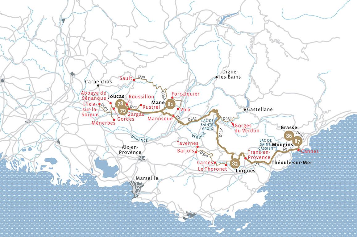 Routes du Bonheur - 3 noites
